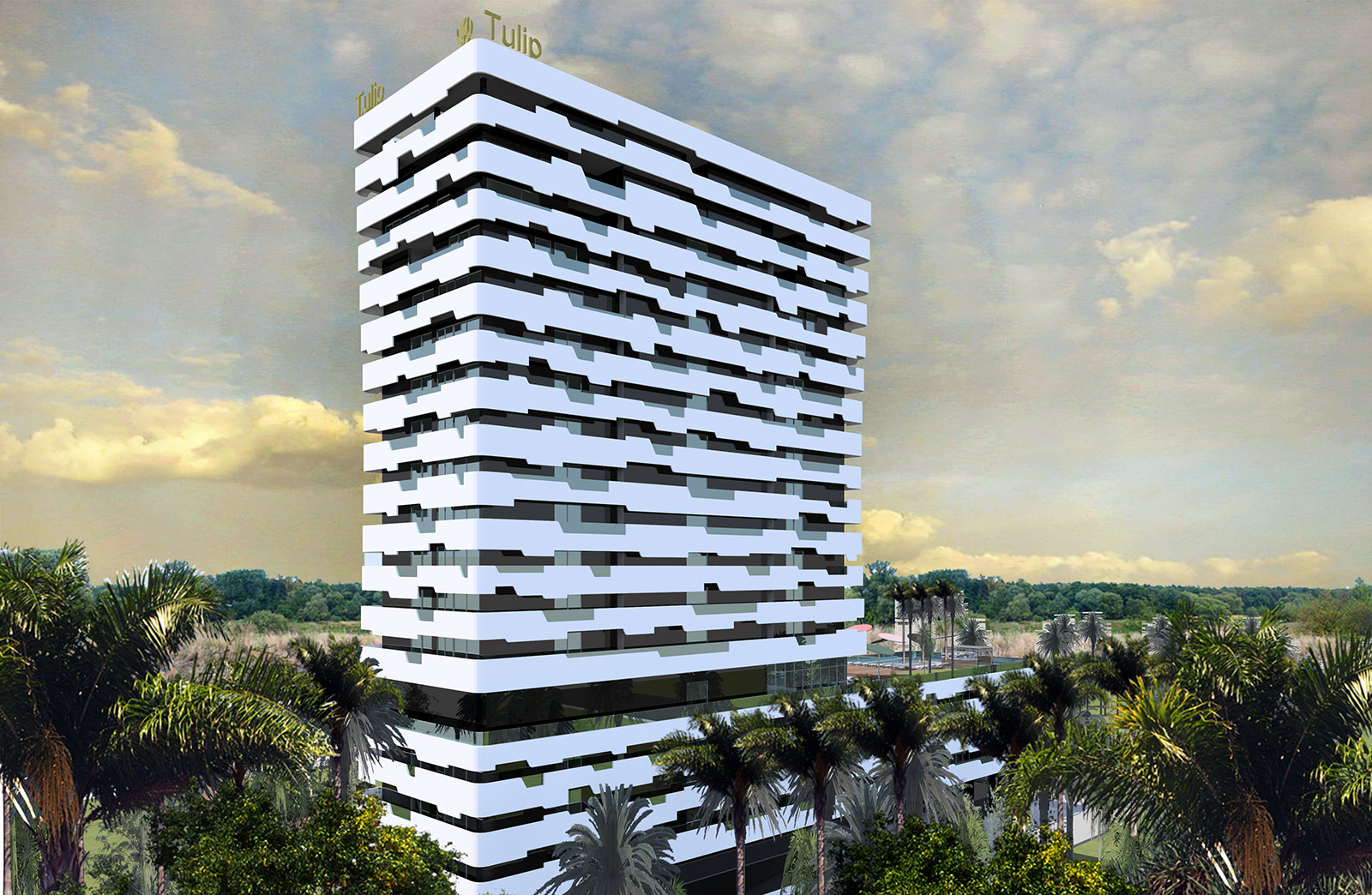 d5b19cd5d729 The building is a residential hotel which will complement the structure of  the Golden Tulip Hotel located on the adjacent plot of land, although its  ...