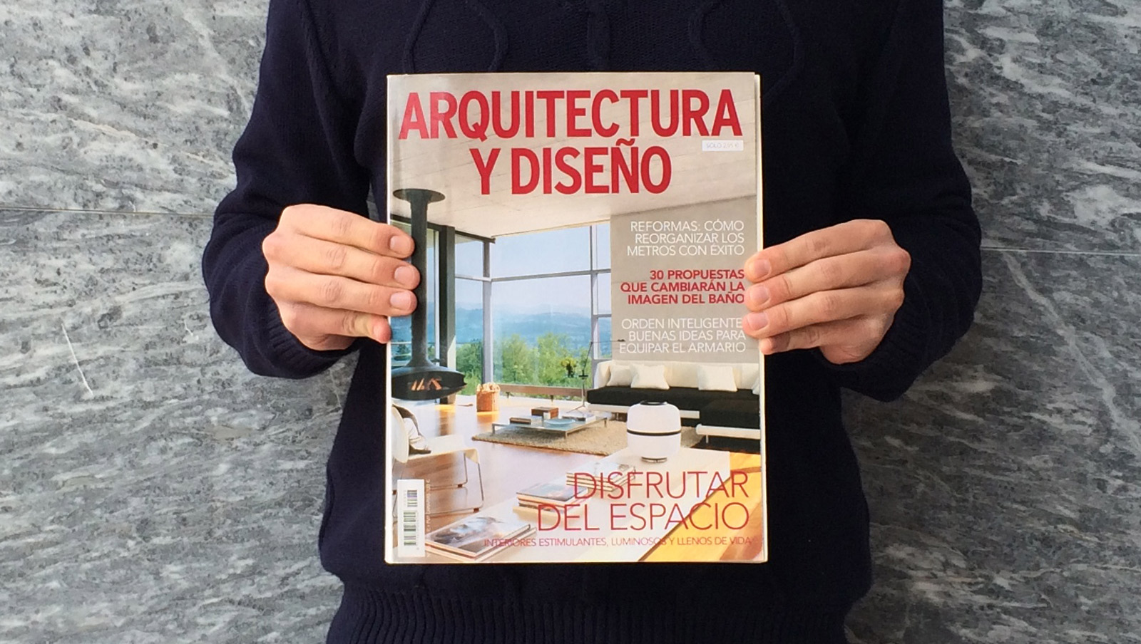 Casa acl em destaque na revista arquitectura y dise o for Revista arquitectura y diseno