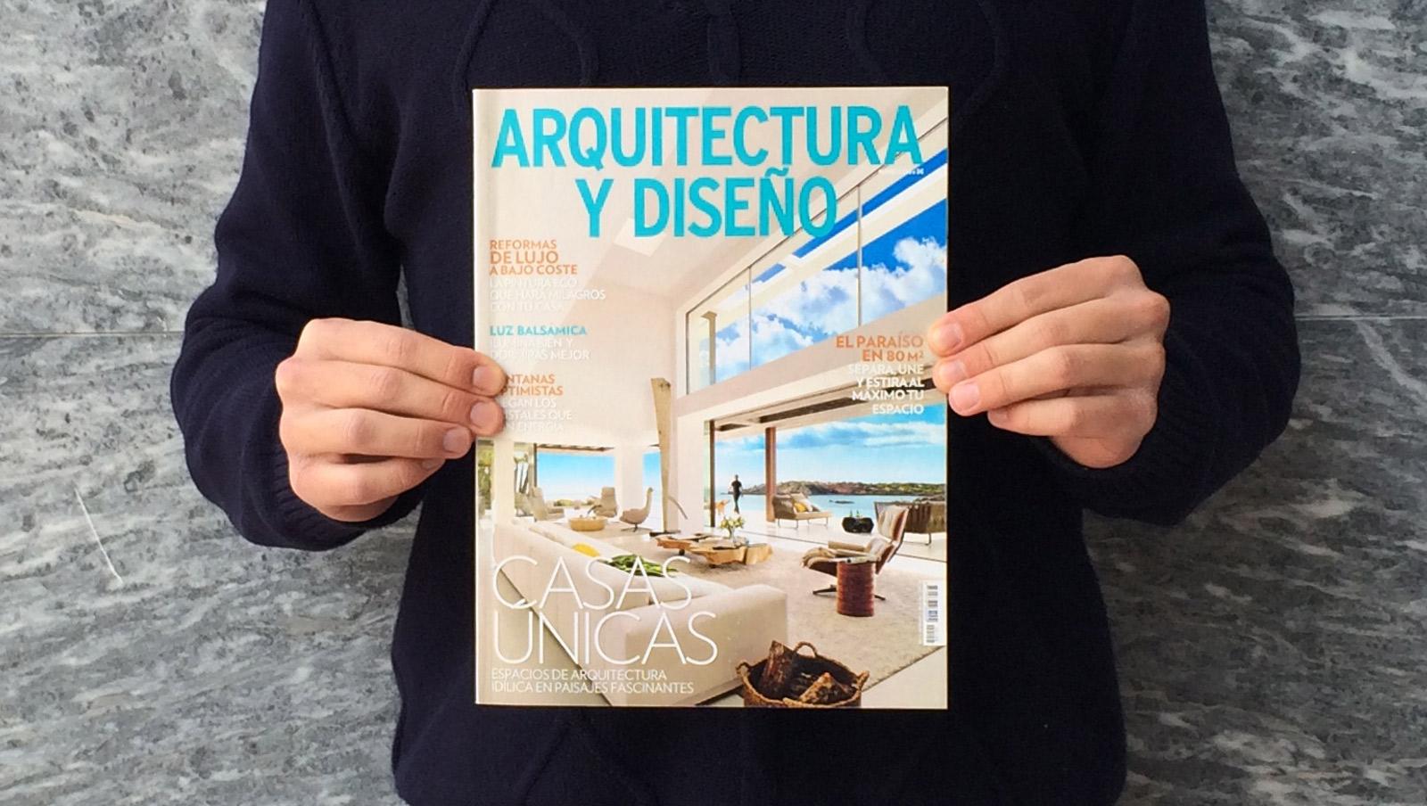 Casa l23 em destaque na revista arquitectura y dise o for Revista arquitectura y diseno